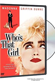 Who's That Girl Poster