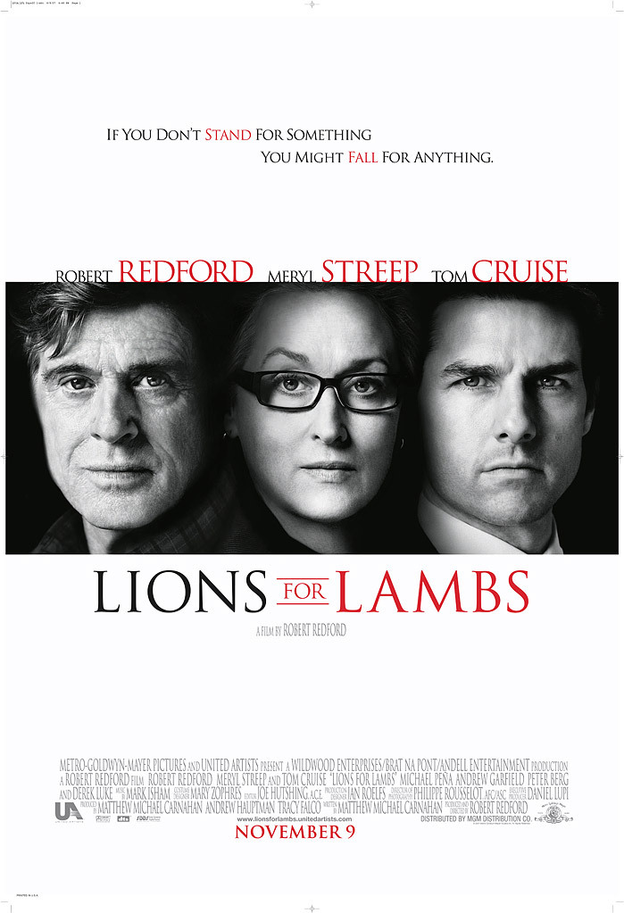 image Lions for Lambs Watch Full Movie Free Online