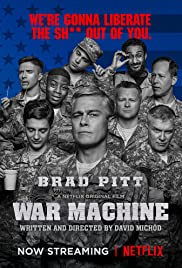 War Machine (2017) Poster - Movie Forum, Cast, Reviews