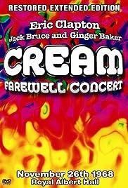 Cream's Farewell Concert Poster