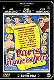 Paris chante toujours! Poster