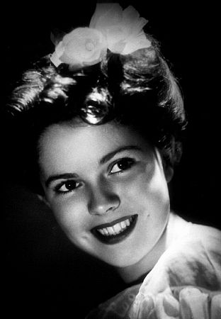 Shirley Temple, circa 1944.