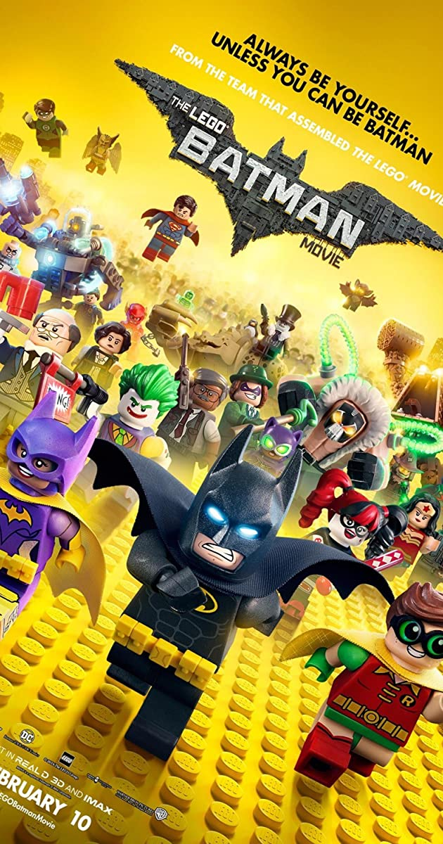 Lego Betmenas. Filmas / The LEGO Batman Movie (2017) atsisiusti