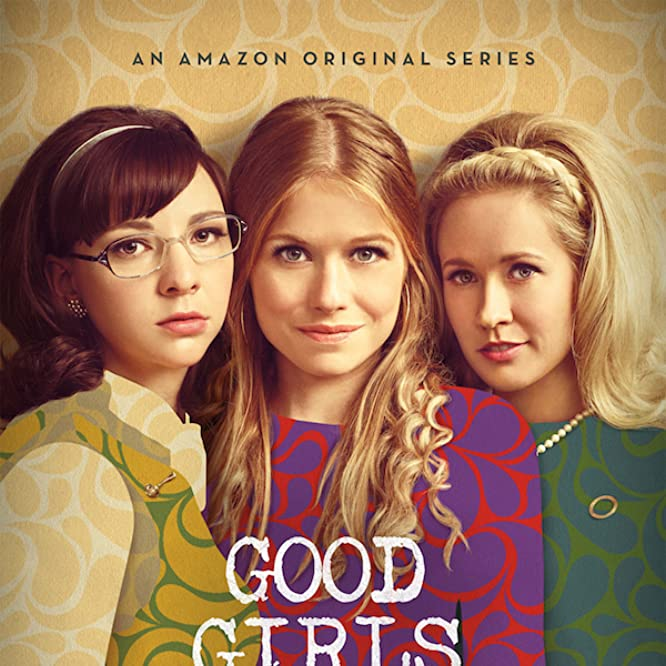 Anna Camp, Genevieve Angelson, and Erin Darke in Good Girls Revolt (2015)