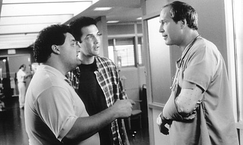 Chevy Chase, Artie Lange, and Norm MacDonald in Dirty Work (1998)