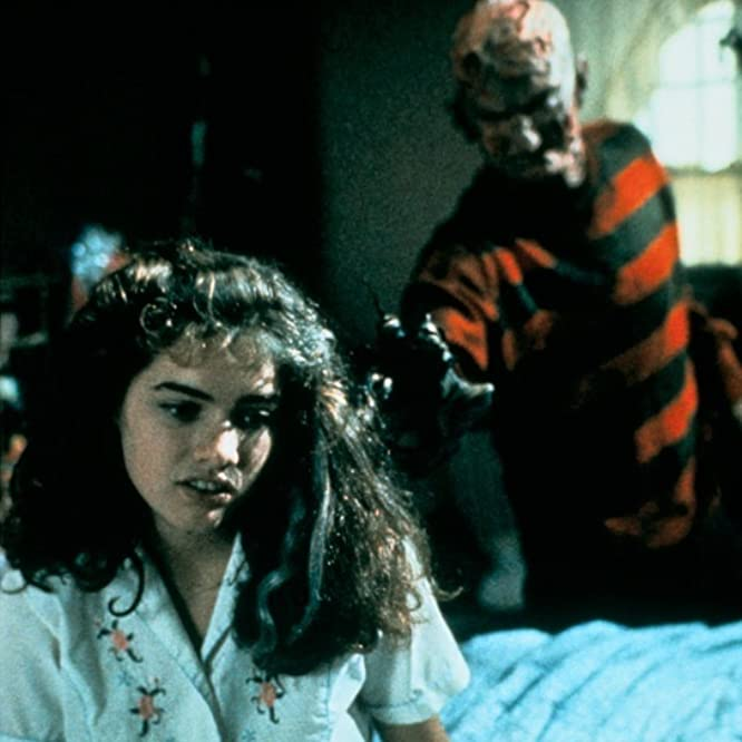 Robert Englund and Heather Langenkamp in A Nightmare on Elm Street (1984)