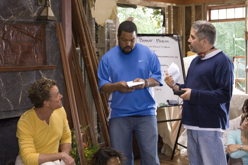 Ice Cube, John C. McGinley, and Steve Carr in Are We Done Yet? (2007)