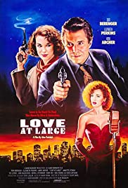 Love at Large (1990) Poster - Movie Forum, Cast, Reviews
