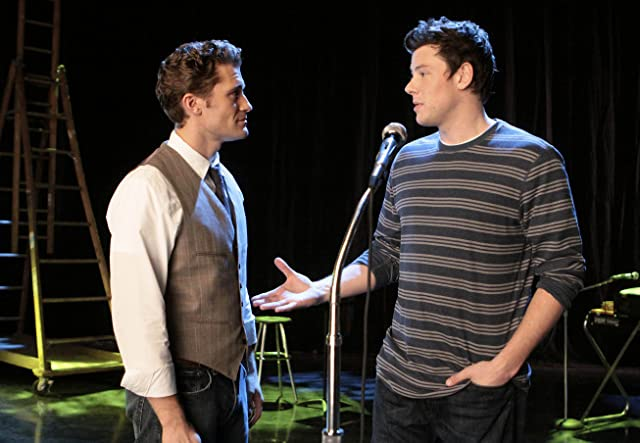 Matthew Morrison and Cory Monteith in Glee (2009)