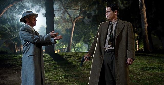 Sean Penn and Josh Brolin in Gangster Squad (2013)