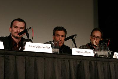 John Underkoffler, Nicholas Meyer and Lawrence Krauss