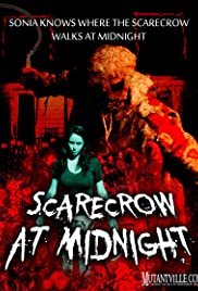 Scarecrow at Midnight Poster