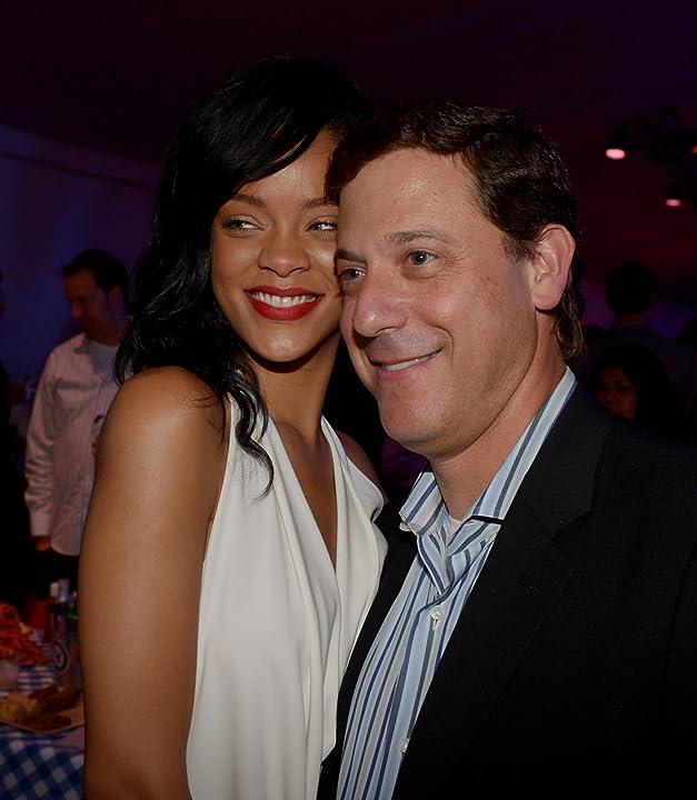 Adam Fogelson and Rihanna at Battleship (2012)