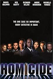 Homicide: The Movie Poster