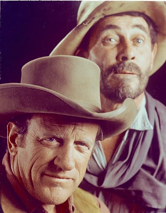 James Arness and Ken Curtis in Gunsmoke (1955)