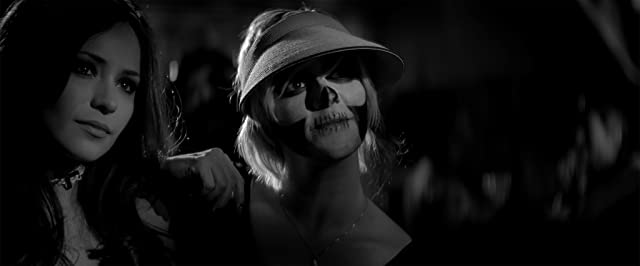 Rome Shadanloo and Ana Lily Amirpour in A Girl Walks Home Alone at Night (2014)