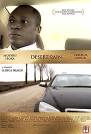 Ploaie in desert Poster
