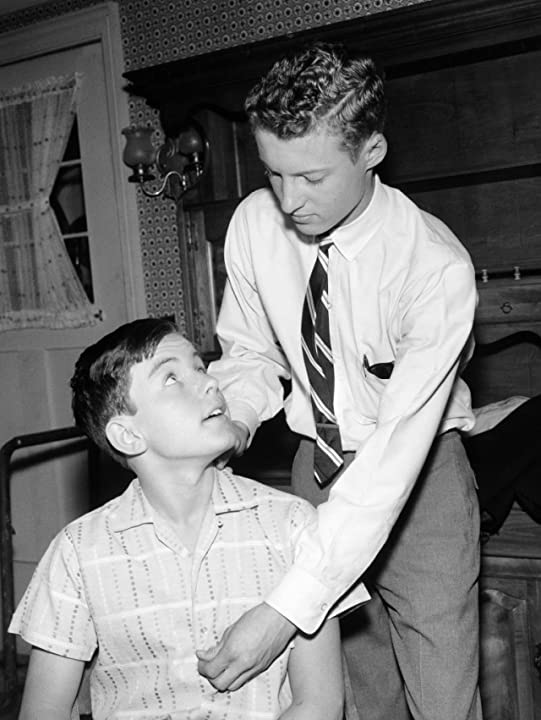 Jerry Mathers and Ken Osmond