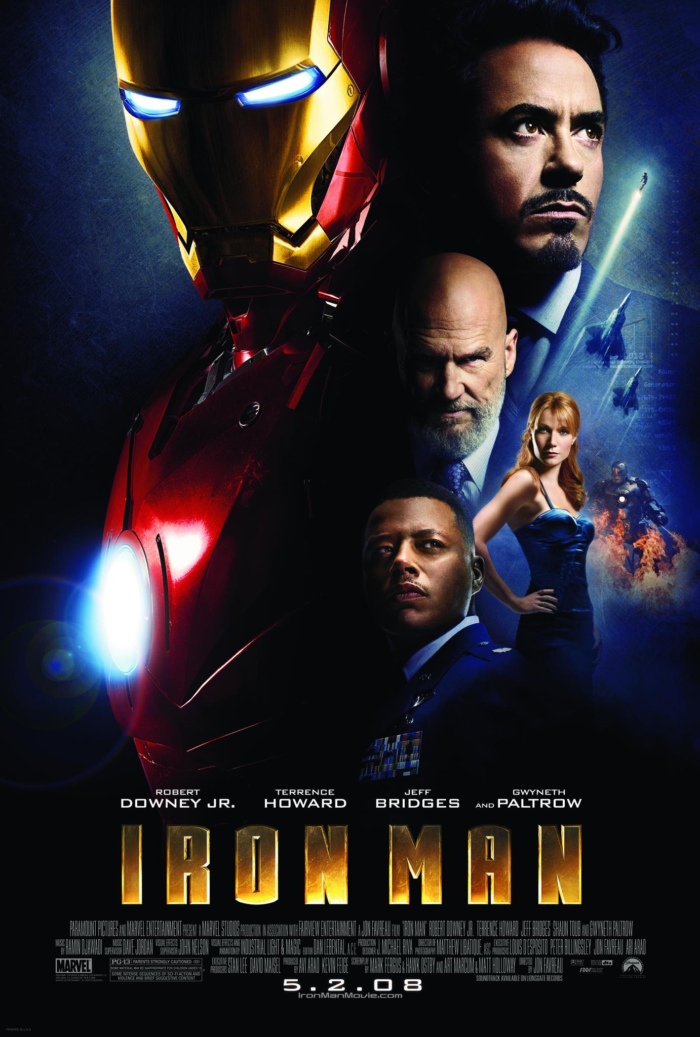 Iron Man 2008 Hindi Dubbed