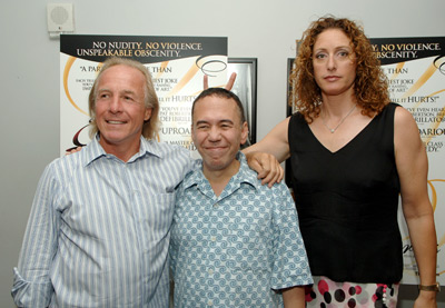 Judy Gold, Gilbert Gottfried, and Jackie Martling at The Aristocrats (2005)