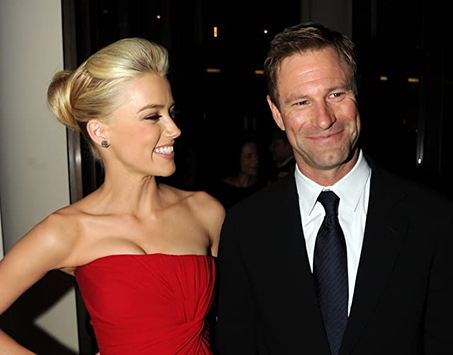 Aaron Eckhart and Amber Heard at an event for The Rum Diary (2011)