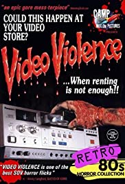 Video Violence (1987) Poster - Movie Forum, Cast, Reviews