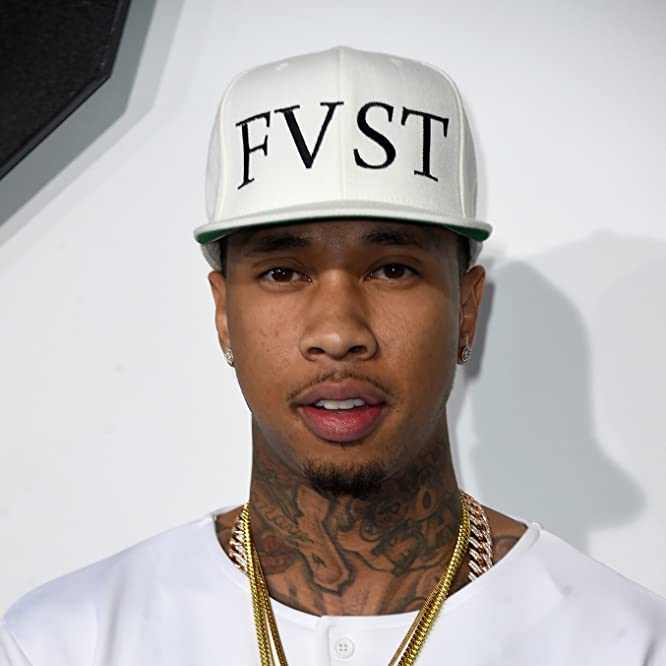 Tyga at an event for Furious 7 (2015)
