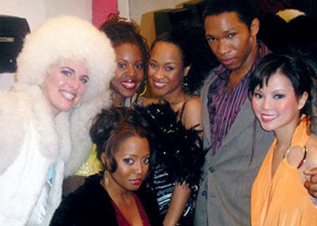 Tangie Ambrose, Keshia Knight Pulliam, Chioke Dmachi, Brenda Vivian, Lauren Karl, and Taylor Tan in Cuttin Da Mustard (2008)