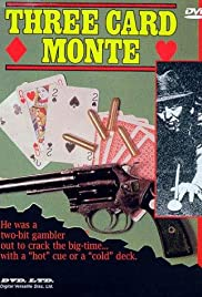 Three Card Monte Poster