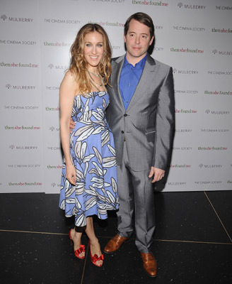 Matthew Broderick and Sarah Jessica Parker at an event for Then She Found Me (2007)