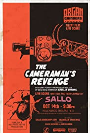 The Revenge of a Kinematograph Cameraman Poster