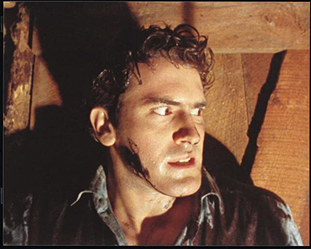 Bruce Campbell in The Evil Dead (1981)