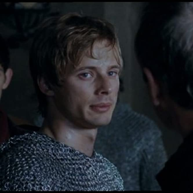Colin Morgan and Bradley James in Merlin (2008)