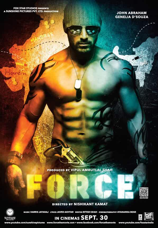 Force 2011 720p HDRip Watch Online Free Download