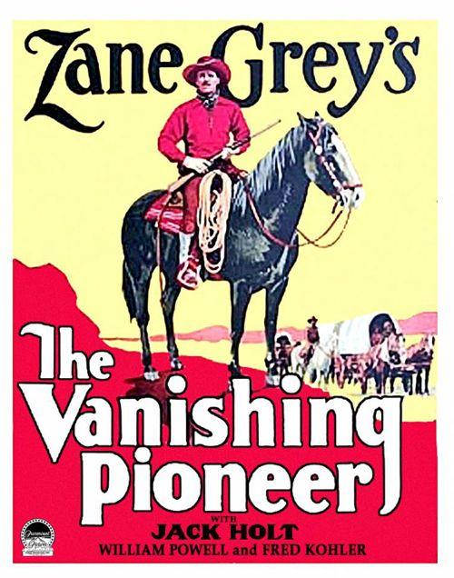 The Vanishing Pioneer 1928