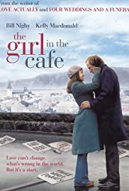 The Girl in the Café Poster