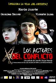 Los actores del conflicto Poster