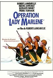 Opération Lady Marlène Poster