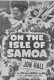 On the Isle of Samoa Poster