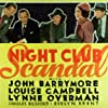 John Barrymore, Charles Bickford, Evelyn Brent, Louise Campbell, and Lynne Overman in Night Club Scandal (1937)