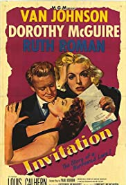 Invitation (1952) Poster - Movie Forum, Cast, Reviews
