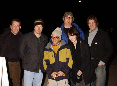 Scott Aukerman, David Cross, Tom Kenny, Bob Odenkirk, Brian Posehn, Jill Talley, and Storm Walker at an event for Run Ronnie Run (2002)