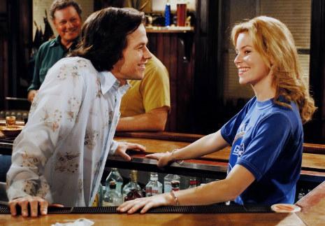 Mark Wahlberg and Elizabeth Banks in Invincible (2006)