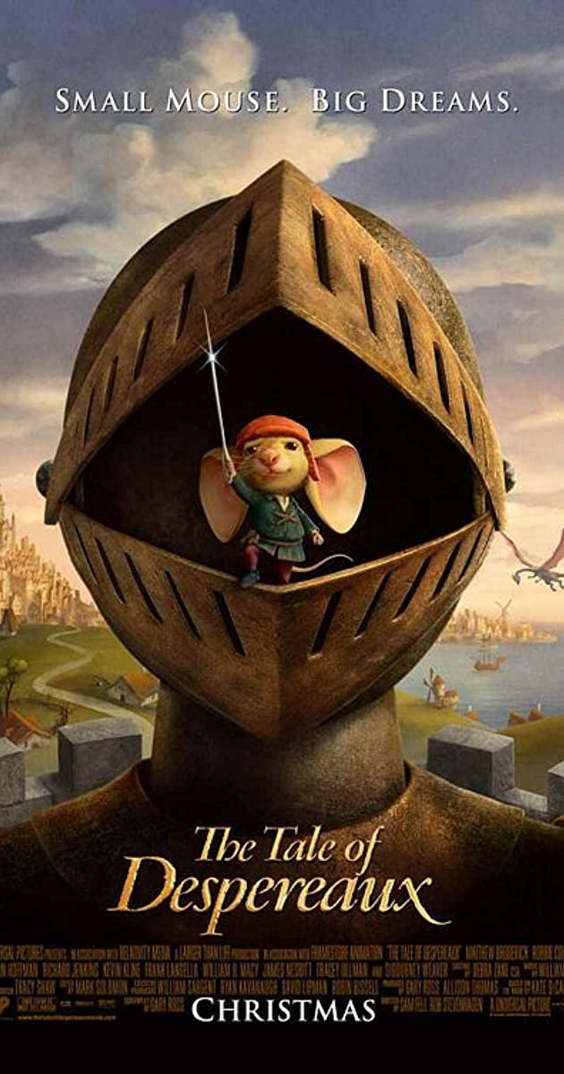 Despero nuotykiai / The Tale of Despereaux (2008)