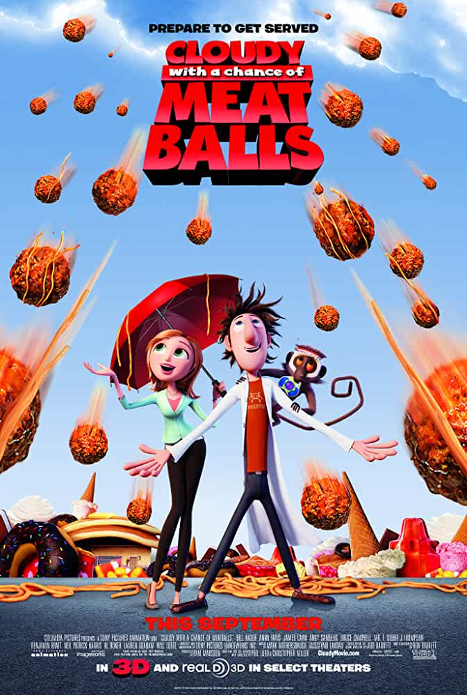 Cloudy with a Chance of Meatballs >> 30s review