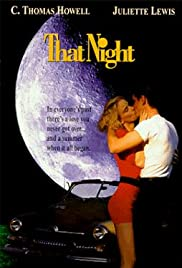 That Night (1992) Poster - Movie Forum, Cast, Reviews