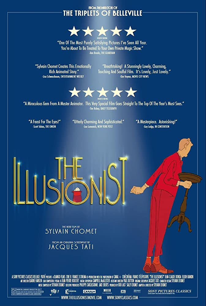The Illusionist filmposter