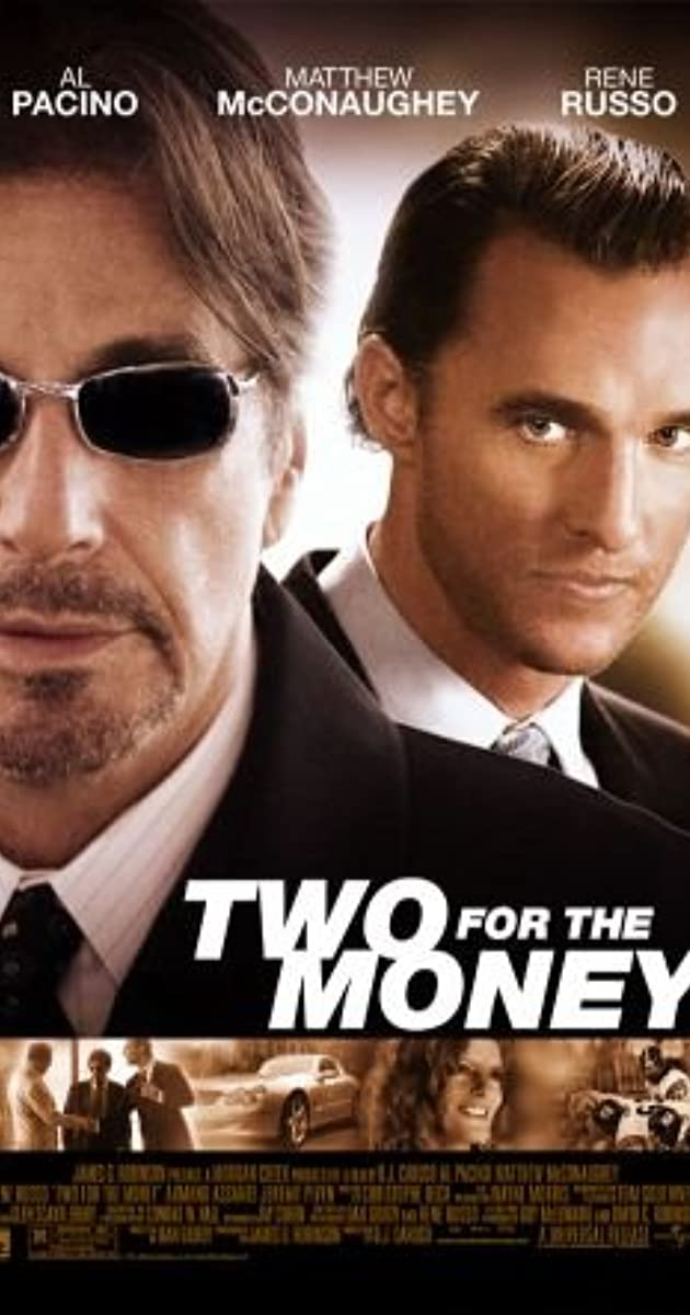 Two for the money 2005 imdb - One for the money two for the show ...