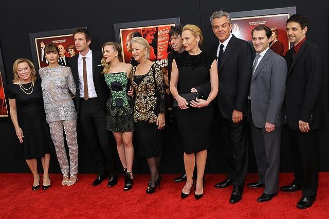 Helen Mirren, Toni Collette, Ralph Macchio, Jessica Biel, James D'Arcy, Sacha Gervasi, Danny Huston, Scarlett Johansson, and Michael Stuhlbarg at Hitchcock (2012)