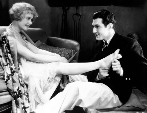 Johnny Mack Brown and Anita Page in Our Dancing Daughters (1928)